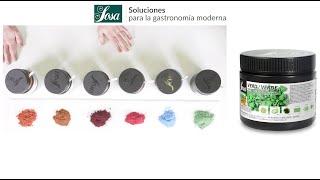 FOOD COLOUR: ¿Cómo colorear con colorantes clean label? ENG & FRENCH subtitles.