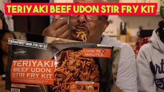 Mukbang   Teriyaki Beef Udon Stir Fry Kit   Sams Club deals
