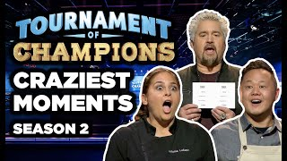 5 Most-SHOCKING Moments on Tournament of Champions Season 2   Food Network