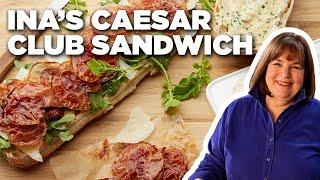 Ina Garten's Chicken Caesar Club Sandwich   Barefoot Contessa   Food Network