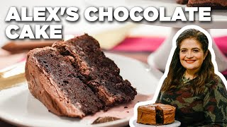Alex Guarnaschelli's Chocolate Cake with Chocolate Frosting   The Kitchen   Food Network