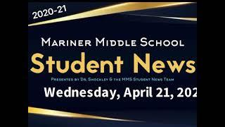 Student News 4/21/21