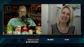 Rebecca Lowe on the Dan Patrick Show (Full Interview) 4/20/21