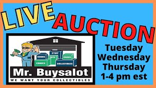 Live Youtube Auction 4/20/21. Signed HOF Footballs Comics Non Sports Cards Photos and More