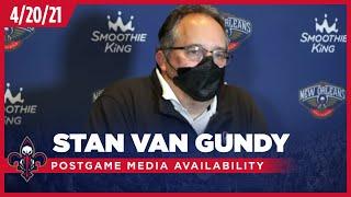 Stan Van Gundy on Loss to Brooklyn Nets 4-20-21 | New Orleans Pelicans