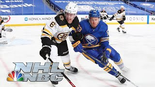 Boston Bruins vs. Buffalo Sabres | EXTENDED HIGHLIGHTS | 4/20/21 | NBC Sports