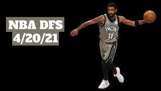 NBA DFS 4/20/21 | My Favorite Plays at PG, SG, SF, PF and C on Both FanDuel and DraftKings