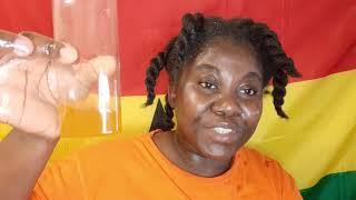 Aloe Vera and avocado hot oil treatment on 4c natural hair