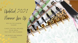 Updated 2021 Panner Line Up:: How I am using 9 planners