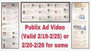 Publix - Weekly Ad Scan - Effective 2/19-2/25 or 2/20-2/26 for some