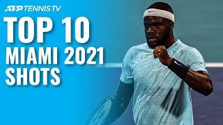 Top 10 Best Tennis Shots & Rallies: Miami Open 2021!