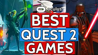 The BEST Oculus Quest 2 Games 2021!