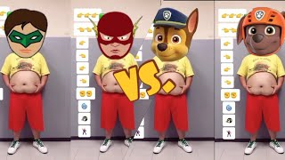 Funniest TOP SUPERHEROES VS. PAW PATROL Funny Dance Effects Most Viewed On Youtube