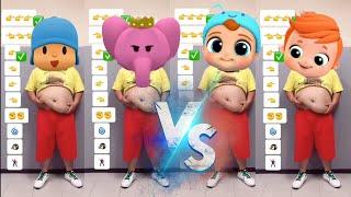 Funniest LITTLE ANGEL VS POCOYO Fat Tummy Dance Effects Most Viewed On Youtube