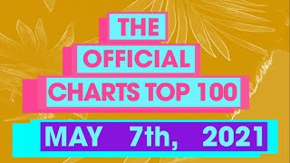 UK Official Singles Chart Top 100 (7th May, 2021)