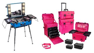 Best Top 10 Trolley Makeup Case For 2021   Top Rated Best Trolley Makeup Case