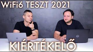 WiFi teszt 2021 - Kiértékelő