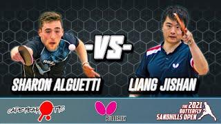 2021 Butterfly Sandhills Open - SF - Sharon Alguetti (2666) vs Liang Jishan (2638) (HIGHLIGHTS)
