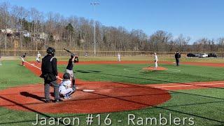 #16 Best 11 Year Old Player in NC? - Jaaron - Ramblers Baseball 11U - USSSA -  Highlights 2021