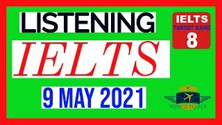 IELTS Listening test 09-05-2021 Cambridge Official Listening test 720p