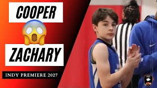 (Indy Premiere 2027) Lockdown Defender 🔒One of the BEST 6th graders in the COUNTRY! COOPER ZACHARY!!