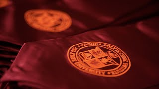Virginia Tech 2021 Spring Commencement - College of Architecture and Urban Studies
