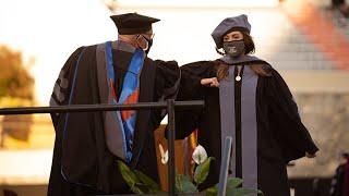 Virginia Tech 2021 Spring Commencement - Virginia–Maryland College of Veterinary Medicine