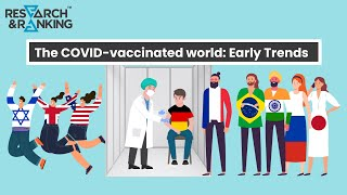 The COVID - vaccinated world: Early Trends