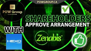Zenabis Global Shareholders Approve HEXO Corp Merger & What Happens Next? (MAY 13th, 2021)