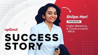 Shilpa's Success Story | upGrad Learner Testimonial