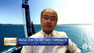 SoftBank's Masa Son says he expects even more massive returns from his Vision Fund portfolio