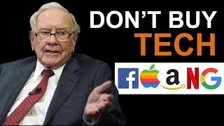 Warren Buffett: Why I HATE Tech Stocks? (UNBELIEVABLE)