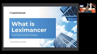 Leximancer Monthly Webinar - May 2021