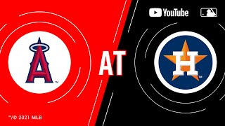 Angels at Astros | MLB Game of the Week Live on YouTube
