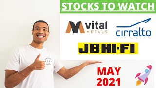 3 TOP ASX Growth Stocks To Watch: May 2021 🚀 | (CRO, VML, JBH) 📈