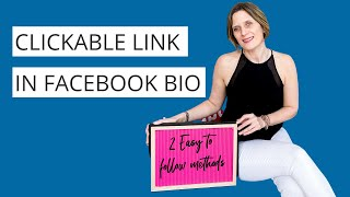 How to Link your Facebook bio to your business page and website - May 2021