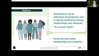 Day 2  Executive Leadership - Resilience and Allyship during Covid (30 minutes)