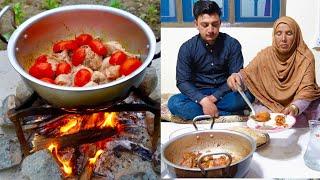 Chicken Karahi Recipe - Pakistan Peshawari Street Food - Peshawari Chicken Charsi Karahi Recipe