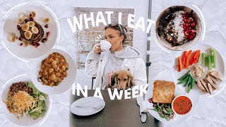 what i eat in a week // intuitive & non-restrictive *healthy meal ideas!*