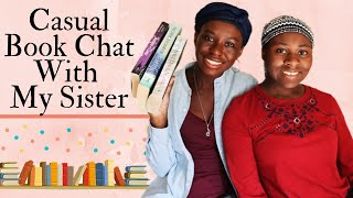 Casual Book Chat With My Sister || [CC]