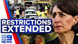 Sydney's COVID-19 restrictions extended | Coronavirus | 9 News Australia