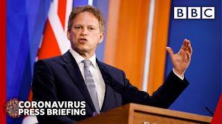 England's quarantine-free travel list revealed - Covid-19 briefing @bbc news live 🔴 BBC