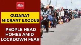 Coronavirus Lockdown: After Delhi, Migrant Exodus From Covid-Hit Gujarat | Breaking News