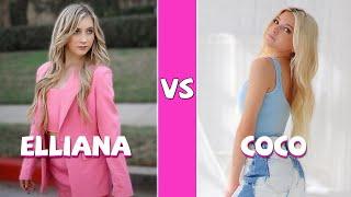 Elliana Walmsley Vs Coco Quinn TikTok Dance Battle (May 2021)