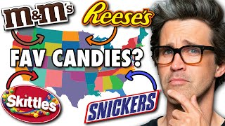 What's The Most Popular Candy In Each State?