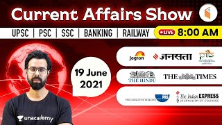 8:00 AM - 19 June 2021 Current Affairs | Daily Current Affairs 2021 by Bhunesh Sir | wifistudy