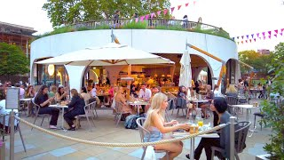 Beautiful Chelsea at Dusk 😍 London Walk | 4K HDR | June 2021