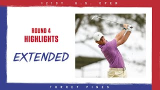 2021 U.S. Open, Round 4: Extended Highlights