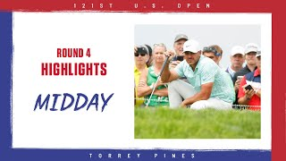 2021 U.S. Open, Round 4: Midday Highlights