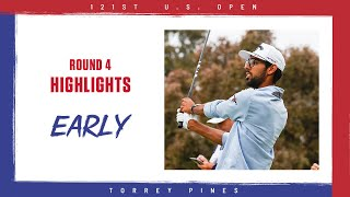 2021 U.S. Open, Round 4: Early Highlights